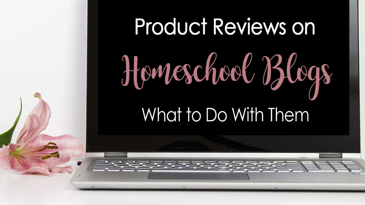 What to Do With Homeschool Blog Reviews