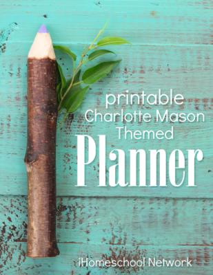 Charlotte Mason Planner Cover