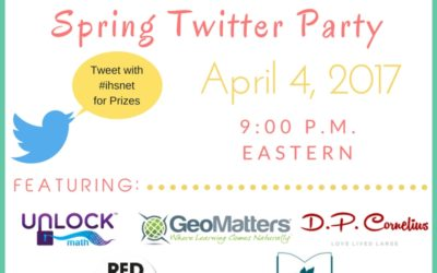 Spring Homeschool Twitter Party 2017