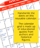 closeup calendar 3