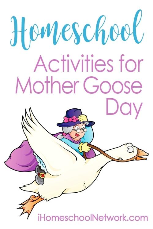 Homeschool Activities for Mother Goose Day