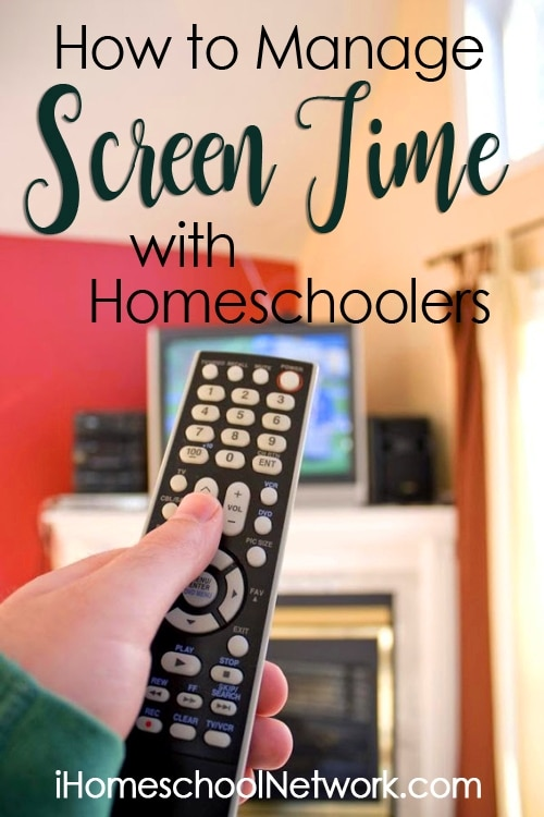 How to Manage Screen Time with Homeschool Kids