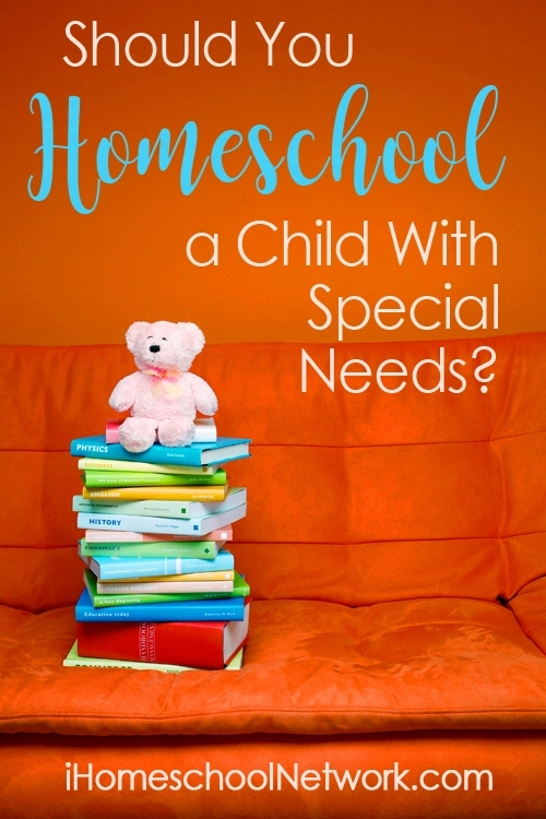 Should You Homeschool a Child With Special Needs?