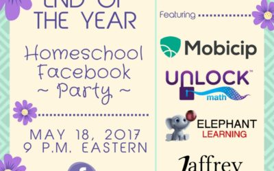 End of the Year Homeschool Facebook Party – 2017