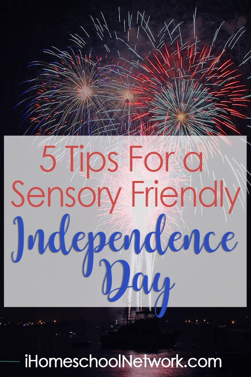 5 Tips For a Sensory Friendly Independence Day