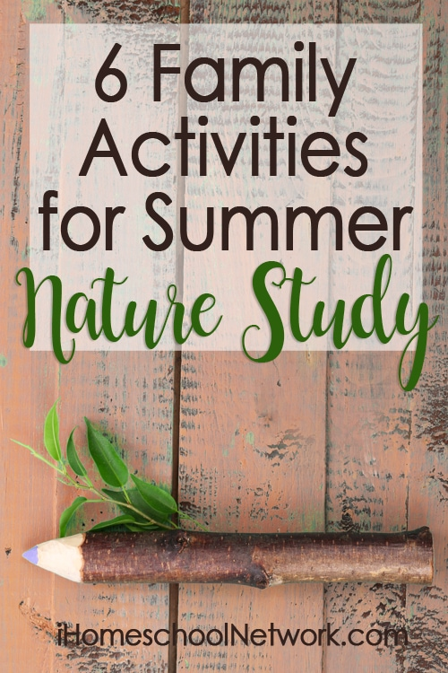 6 Family Activities for Summer Nature Study
