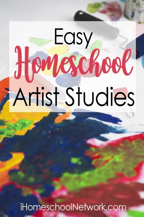 Easy Homeschool Artist Studies