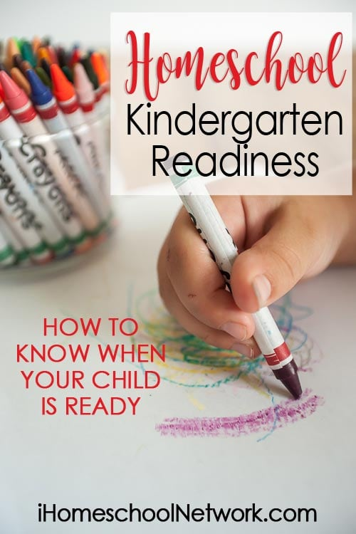 Homeschool Kindergarten Readiness: How to Know When Your Child Is Ready for Kindergarten