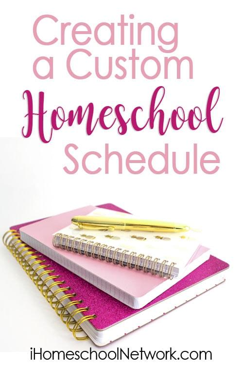 Creating a Custom Homeschool Schedule