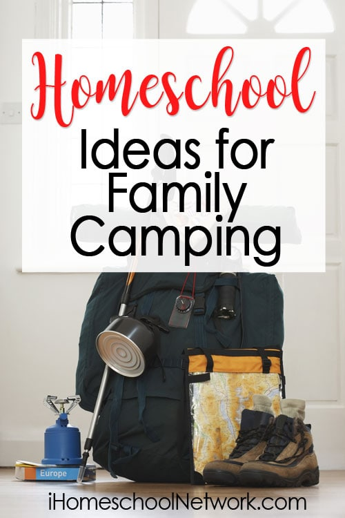 Educational Ideas for Family Camping: Great educational ideas for camping shared by a homeschool family who loves to camp. Ideas for daytime and nighttime fun are included.
