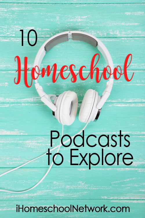 Here you'll find a collection of excellent homeschool podcasts for every stage of your journey. With the power of social media, you're never alone.