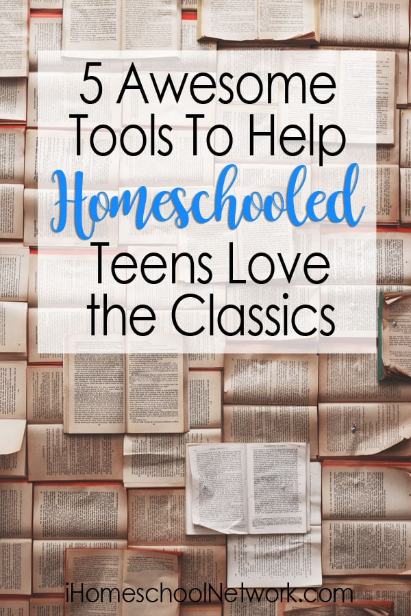 Does your teen have trouble with classic literature? Want to bring the classics to life? Here are 5 awesome tools to help your teen love the classics.