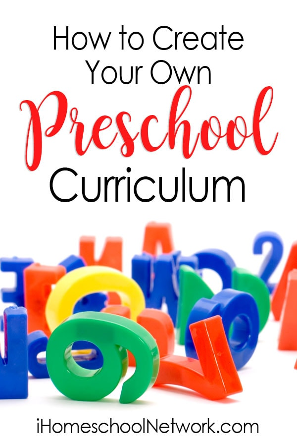How to Create Your Own Preschool Curriculum