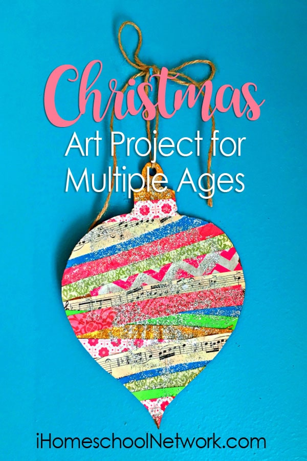 Christmas Art Project for Multiple Ages