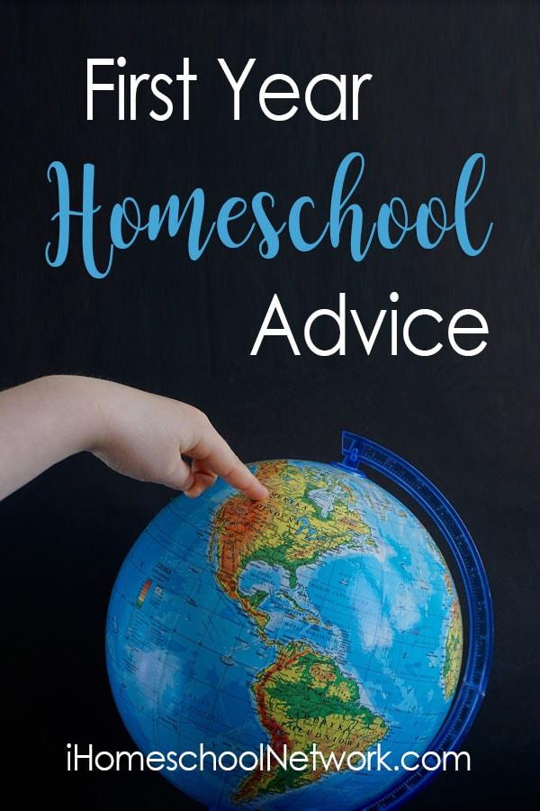 First Year Homeschool Advice