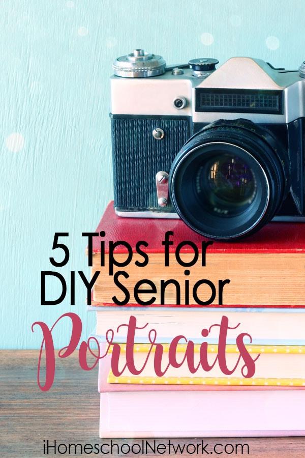 5 Tips for DIY Senior Portraits