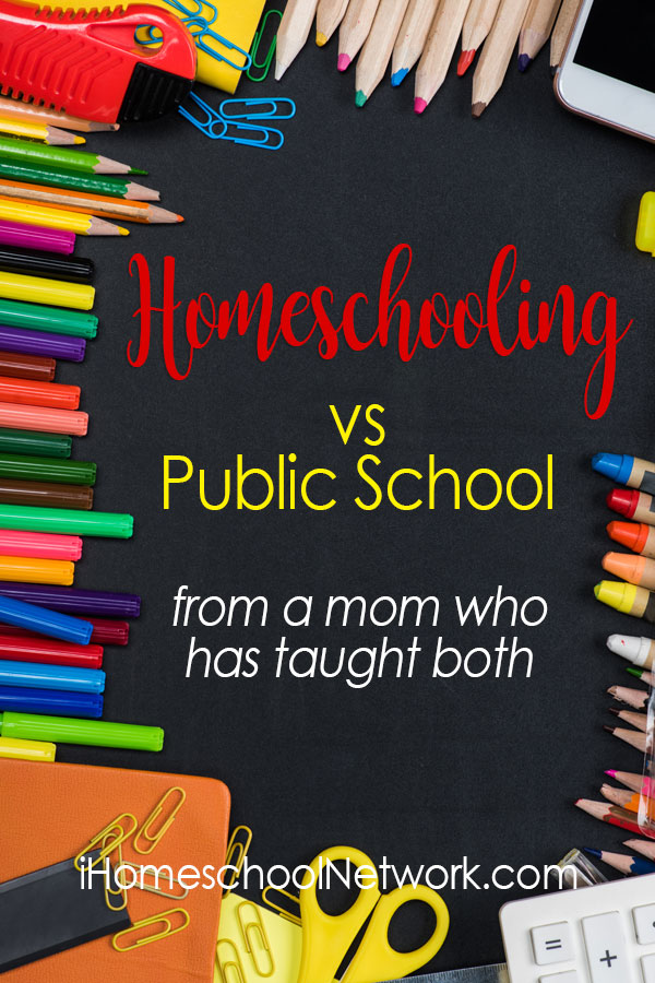 Homeschooling vs Public School: from a mom who has taught both