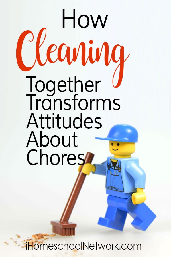 How Cleaning Together Transforms Attitudes About Chores