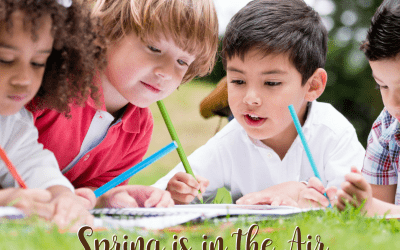 Spring is in the Air Homeschool Facebook Party