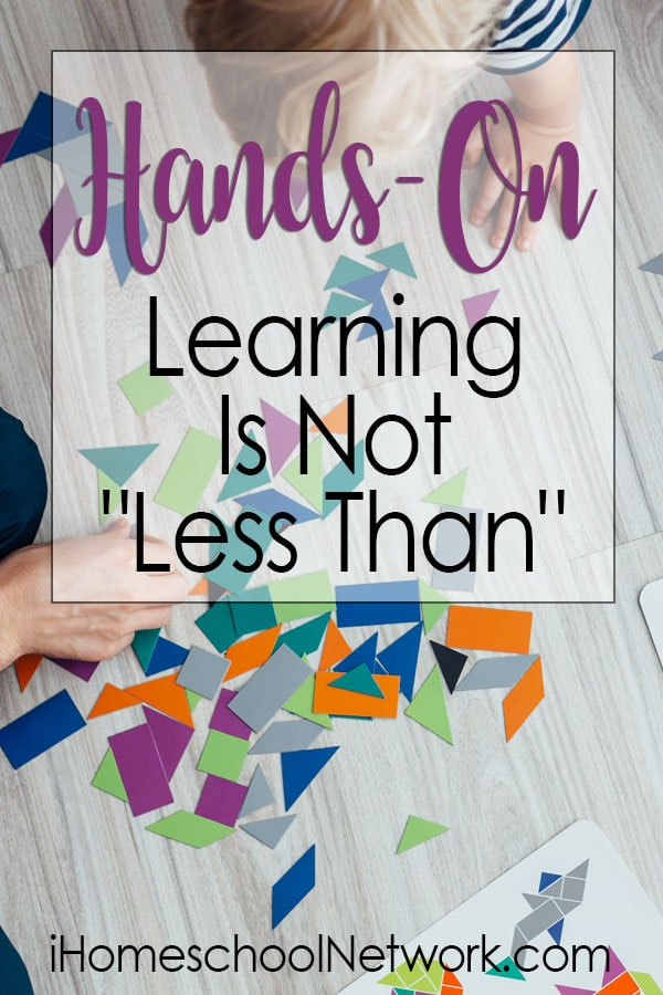 "Hands-On Learning Is Not ""Less Than"""