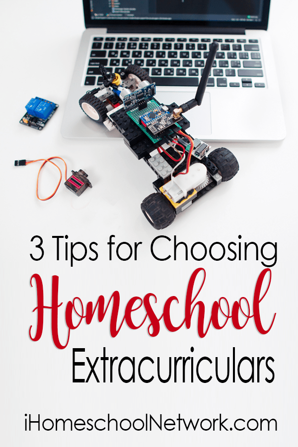 3 Tips for Choosing Homeschool Extracurriculars