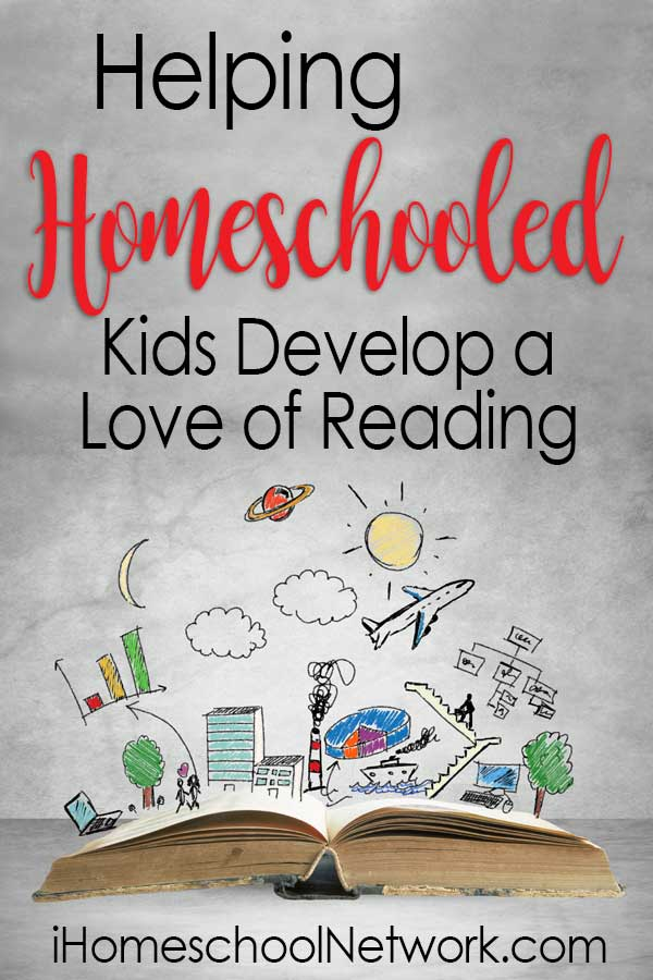 Helping Homeschooled Kids Develop a Love of Reading