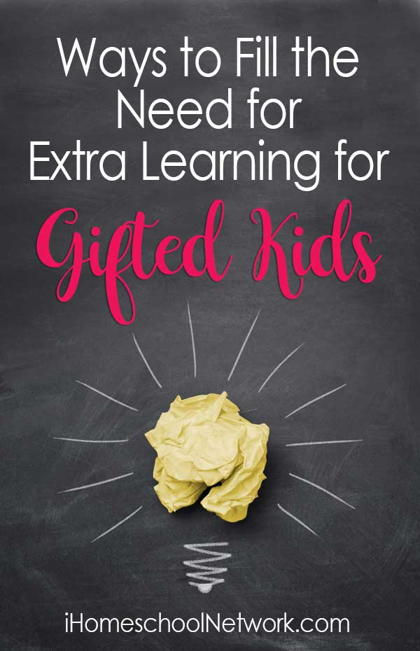 Ways to Fill the Need for Extra Learning for Gifted Kids