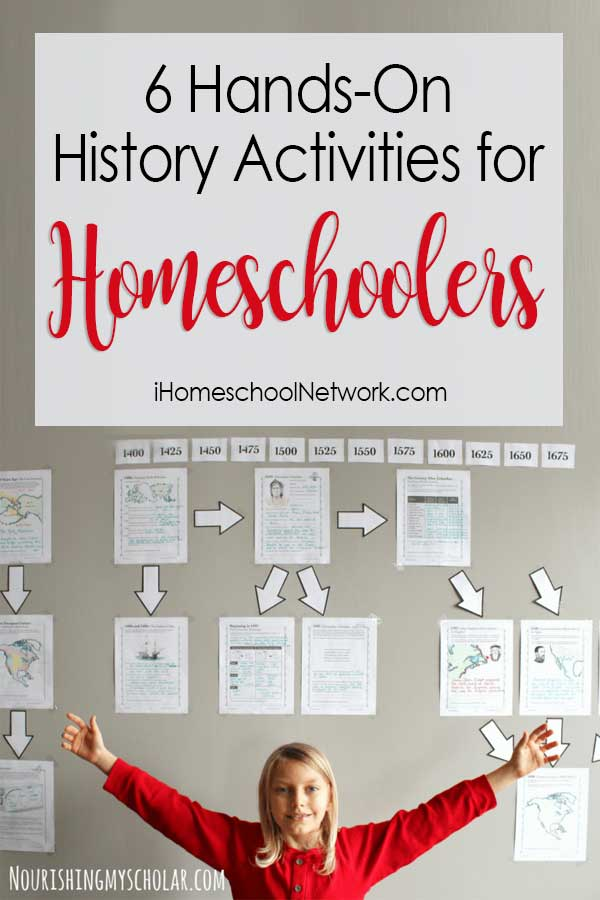 6 Hands-On History Activities for Homeschoolers
