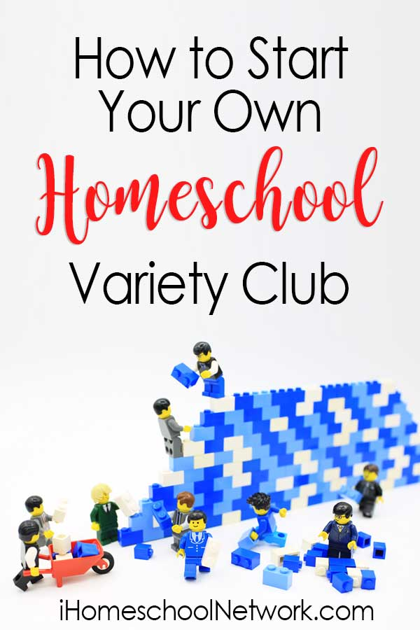 How to Start Your Own Homeschool Variety Club