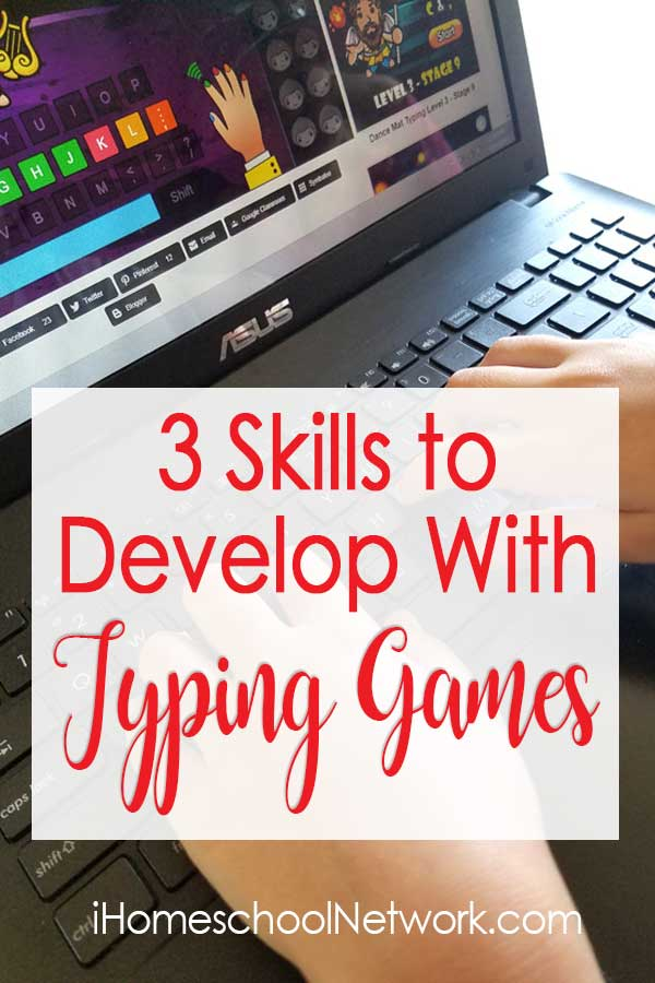3 Skills to Develop with Typing Games