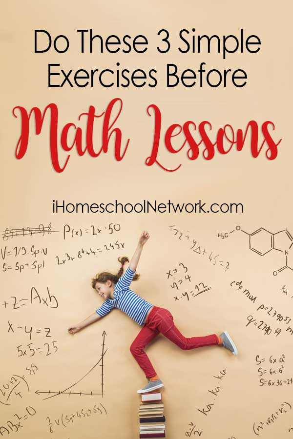 Do These Three Simple Exercises Before Math Lessons