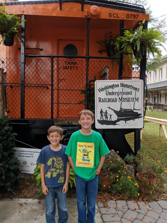 Underground Railroad Roadschooling Museum