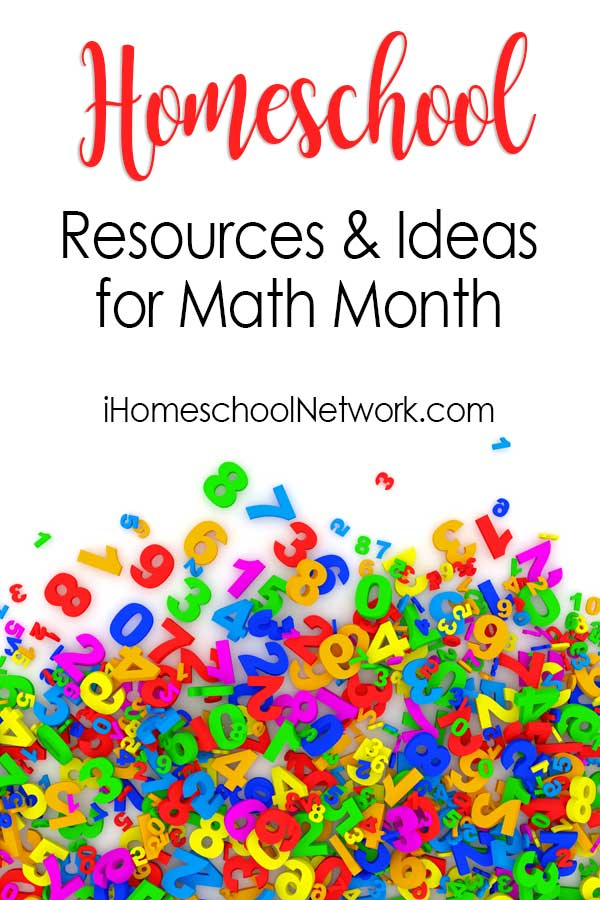 Homeschool Resources and Ideas for Math Month in April