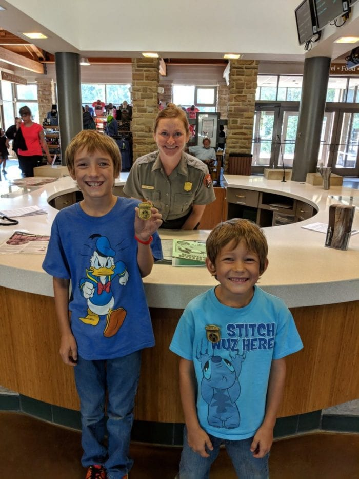 junior ranger roadschooling adventure