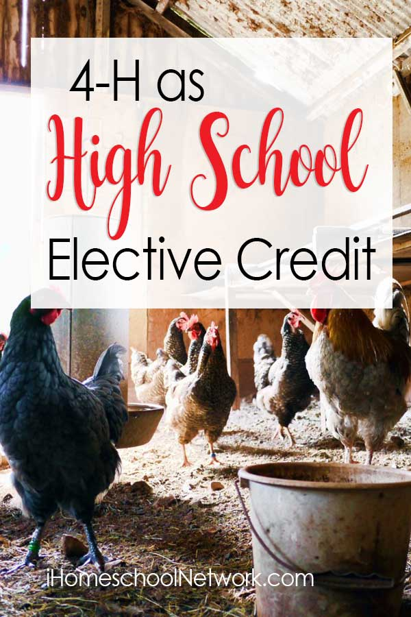 4-H as High School Elective Credit