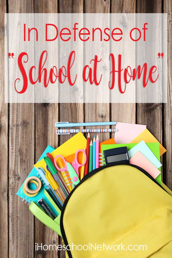 "In Defense of ""School at Home"""