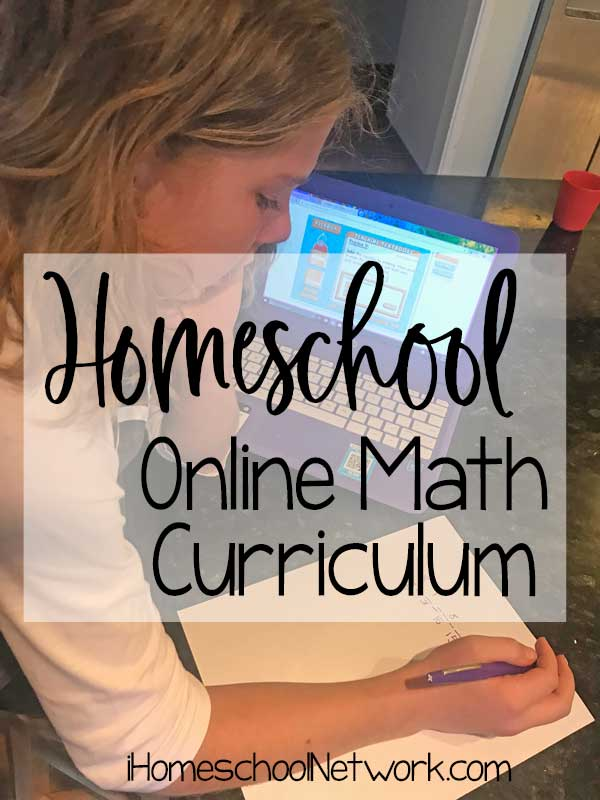 Homeschool Online Math Curriculum