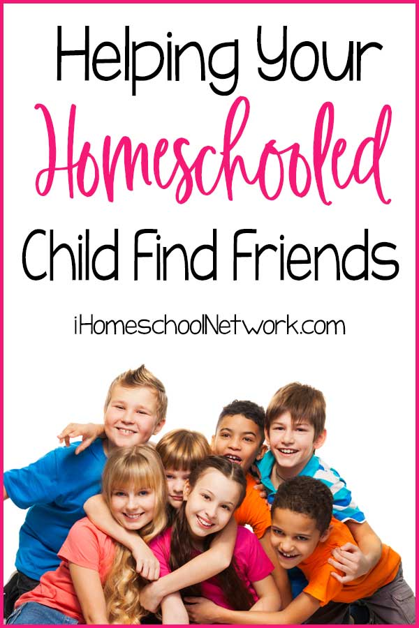 Helping Your Homeschooled Child Find Friends