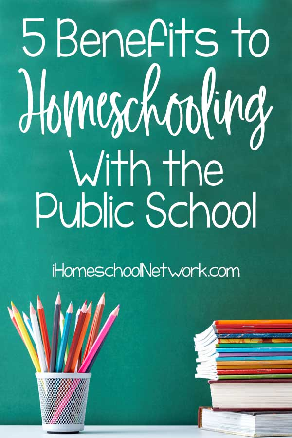 5 Benefits to Homeschooling With the Public School