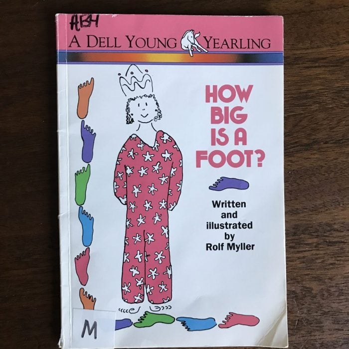 How Big is a Foot Picture Book to Teach Math