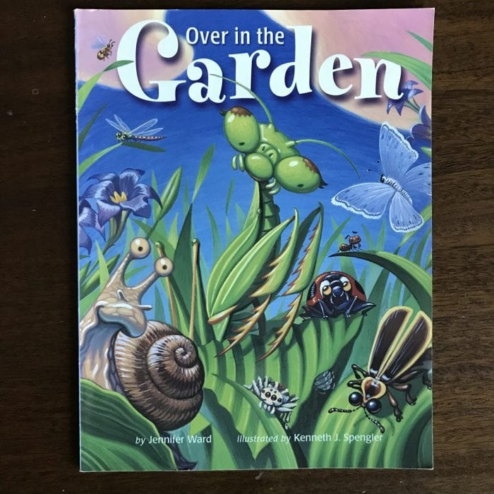 Over in the Garden Picture Book to Teach Math