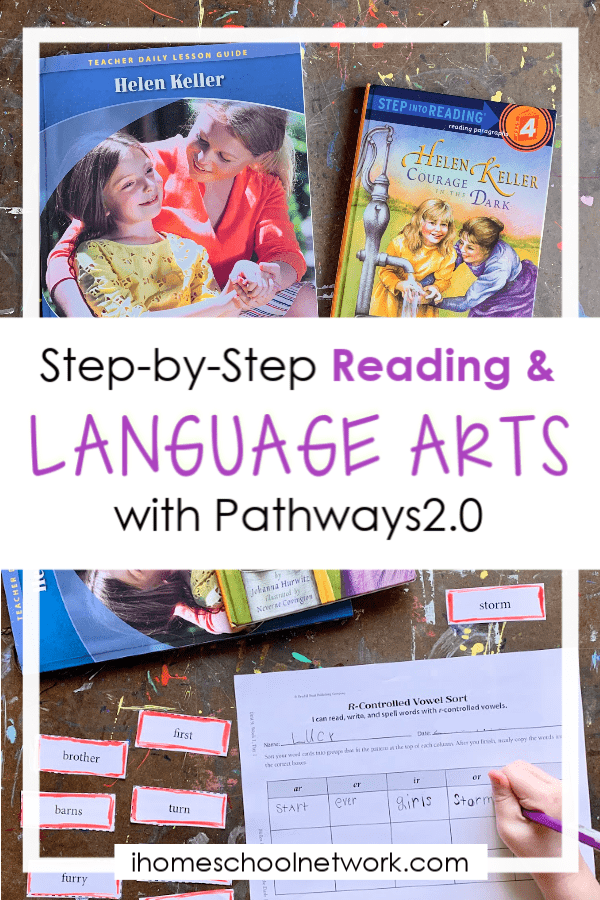 Looking for an easy-to-use Christian language arts curriculum? Pathways2.0 has you covered!