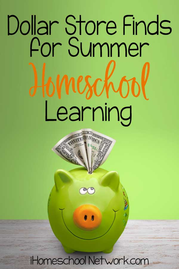 Dollar Store Finds for Summer Homeschool Learning