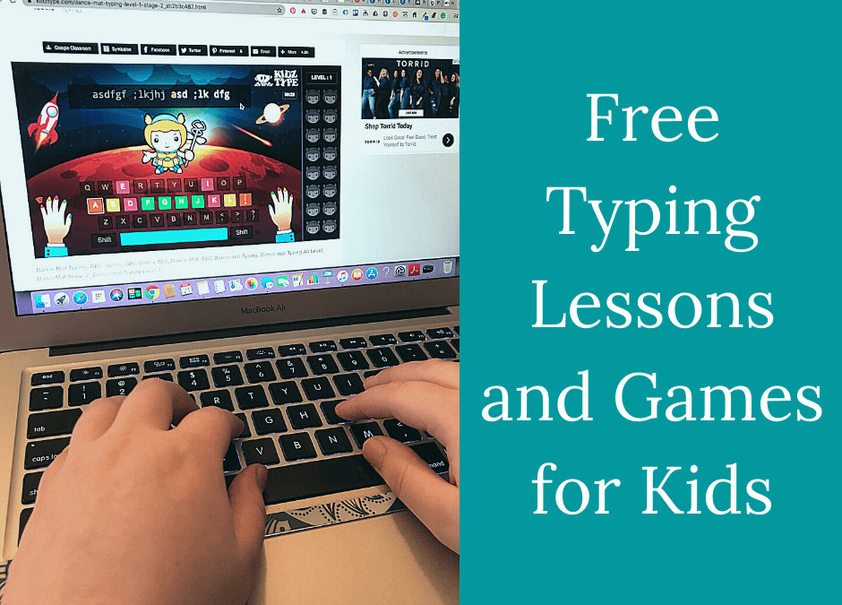 Free Typing Lessons and Typing Games for Kids