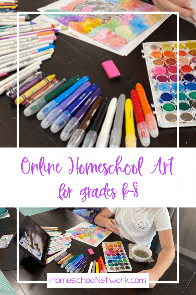 Atelier Homeschool Art by Arts Attack brings the art teacher to you!