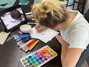 Online Homeschool Art Curriculum with Atelier Homeschool Art by Arts Attack
