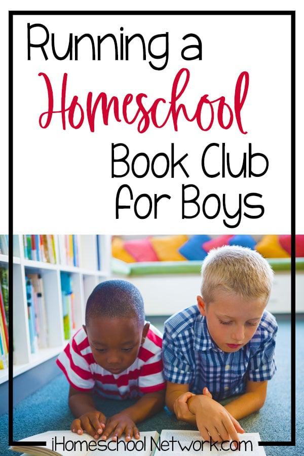 Running a Homeschool Book Club for Boys