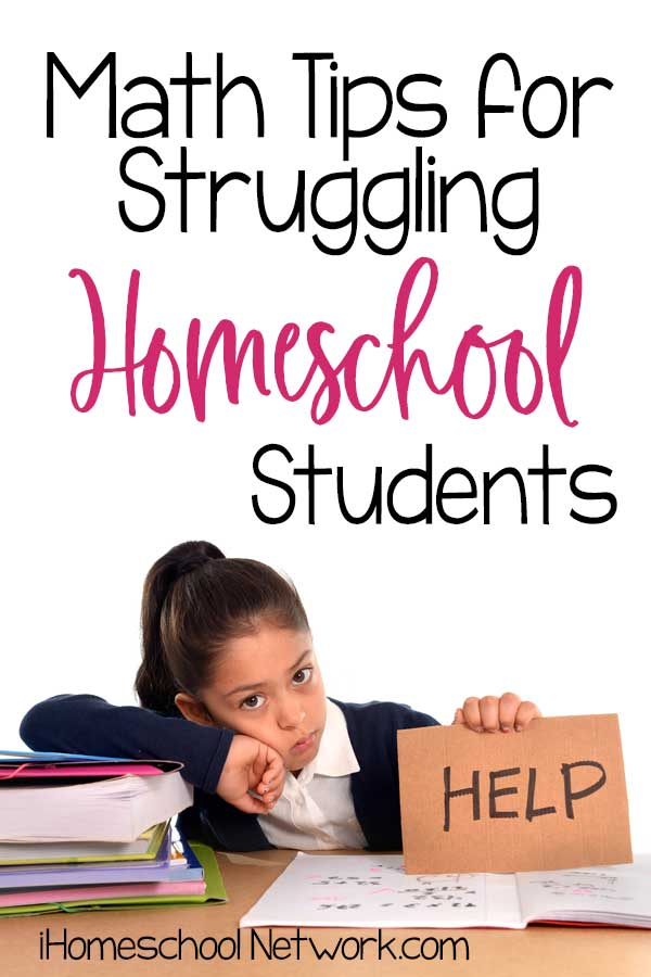 Math Tips for Struggling Homeschool Students